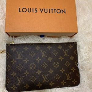 Louis Vuitton Monogram Neverfull Pouch